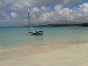 Barque plage